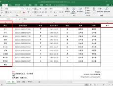 Excel表格冻结窗格-同时冻结行列及多行多列